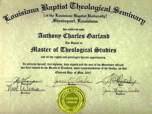 Theology univ courses
